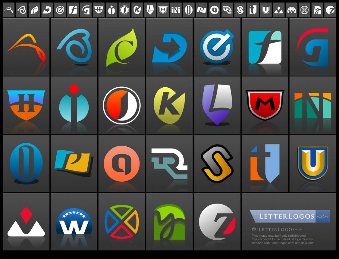 Cool Letter I Logo.Letter Logo Resources Letter Logo Design
