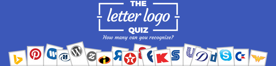 The Letter Logo Quiz
